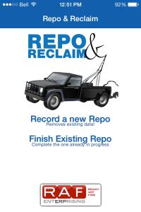 Repo and Reclaim